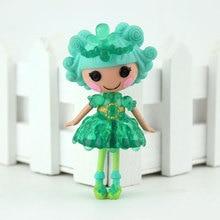 Muñecas originales MGA de 18 estilos, Mini muñecas Lalaloopsy de 3 pulgadas para jugar