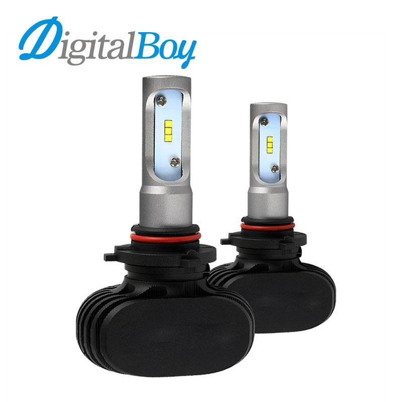 Brand New LED Headlight 9005/HB3 Bulbs Car Headlamp Single Beam Fog Light Bulb 50W 8000lm 6500k Auto Lights Car Front Headlights 9005 led car headlight bulb single beam 30w 3000lm 6000k auto headlamp dc 12 24v for audi mercedes benz bmw cadillac chevrolet