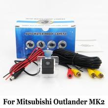 Автомобиля Камера Заднего Вида Для Mitsubishi Outlander MK2 2006 ~ 2013/RCA AUX Проводной Или Беспроводной HD Ночного Видения Заднего Вида Парковка камера