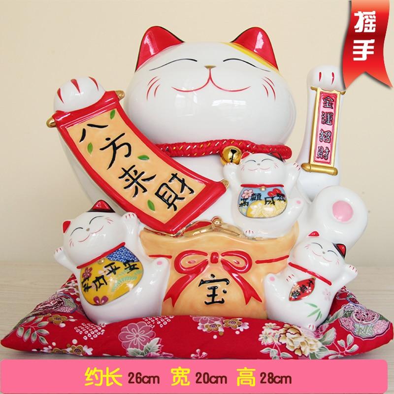 Mano de gato Cinco bendiciones descienden sobre la decoración de la - Decoración del hogar - foto 2