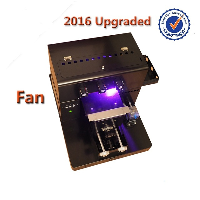 New arrival A4 size UV Printer Flatbed Printer for Phone Case Printer