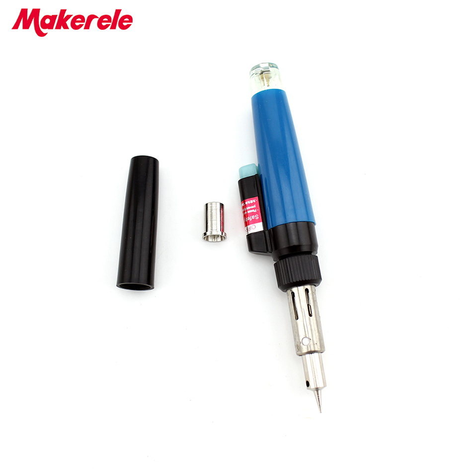 HT-E01 shape gas gun tool  multi-function gas torch soldering Cordless Refillable Butane Gas Soldering Iron Pen