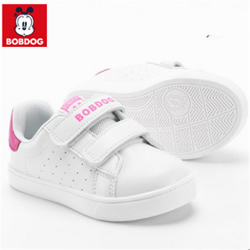 47abadb00f0 ... Girls Boy Shoes Fashion Toddler Children Baby Sneakers Kids Bobdog  Spring 2018 Boys Shoes Girls Brand ...
