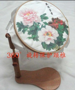 Seat Frame with choice of Hoop Size For Embroidery Or Cross Stitch 24cm wooden hook frame height adjustable free shipping