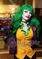 Custom Made Batman Female Joker Costume  Uniform Adult Halloween Cosplay Costume D1112