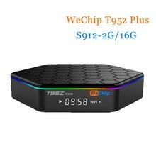 [Wechip] T95Z плюс Android TV Box 7.1 OS S912 Восьмиядерный 2 г/16 г 2.4 г + 5 г двойной BT4.0 10/100 м/1000 м Коди 17.0 HD медиаплеер PK X96