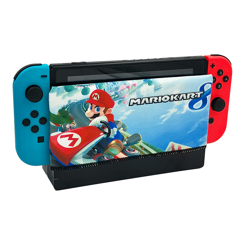 Nintend Switch Sleeve Accessories Dock Sock Protection Soft Suede Anti-scratch Cover Case for NS Dock nintend switch dockable anti scratch crystal hard back detachable protective case cover slim for nintendos switch ns docking