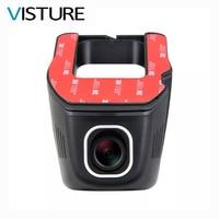 WiFi Auto DVR Novatek 96658 Camera Video Recorder Universele DVRs Dashcam Draadloze Nachtzicht Telefoon APP Controle Visture D96