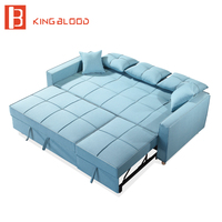 Living room leisure 3 seater sofa bed