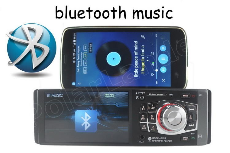 US $31 51 8% OFF|1 Din Bluetooth Car Radio radio cassette player MP5 player  FM USB Steering Wheel Control 4 1 inch Auto Audio Stereo Autoradio-in Car