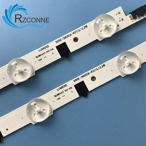 """Image 2 - Original LED Backlight strip For 39""""TV UA39F5008AR UA39F5088AR CY HF390BGAV2H 2013SVS39F D2GE 390SCA R3 D2GE 390SCB R3 UE39F5000"""