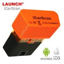 ICARSCAN LAUNCH X431 con 10 Software gratuito para IOS y Android, 3 uds./lote, mejor que LAUNCH x431 Idiag Easydiag 2,0 MDiag Lite Plus