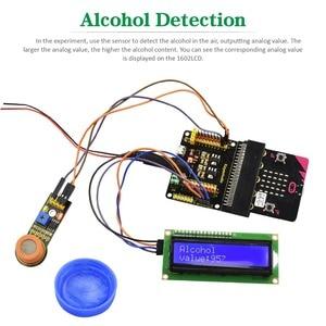 Image 5 - Keyestudio 37 в 1 стартовый набор датчика с микро: битовая плата для BBC MicroBit DIY проектов (включая микро: битовая плата)