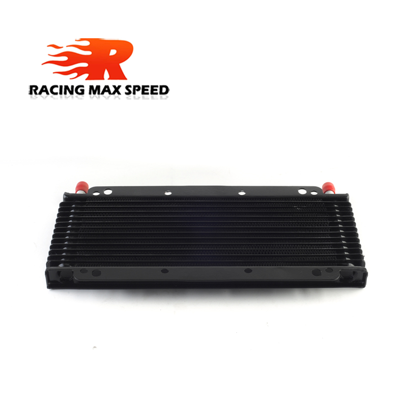 High Quality Universal 280mm Motorcycle Multi storey oil cooler 13&17&18&<font><b>25</b></font>&27&<font><b>28</b></font>&30&32 row SO-09 image