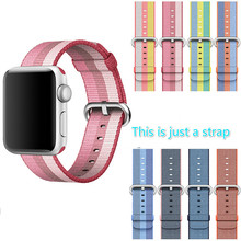 For Apple Watch Strap Fine Woven Nylon Sports Watch Men And Women New For apple Watch Series1/2 Sports Watch 42/38mm Straps