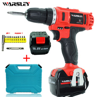 16 8v Rechargeable Drill Electric Drill Power Tools Electric Battery Drill Screwdriver Electric Cordless Drill Screwdriver