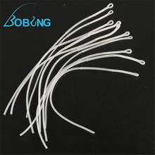 Bobing 10 Pcs/Lot Multifilament Fly Fishing Loop Connector 30LB Fly Loop Line Saltwater Braided Fishing Tackle Accessories