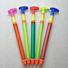 Детские игрушки, пластиковый водяной пистолет, Прозрачный водяной пистолет, однотрубный шприц, насосные пляжные игрушки, игрушки для игры в воду