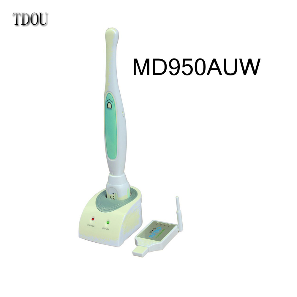 TDOUBEAUTY Wireless Intra Oral Camera MD950AUW New 2.0 Mega Pixels Wireless USB Dental Intra-oral Camera Free Shipping
