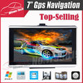 7 inch HD Car GPS Navigation 800MHZ FM 4GB 128MB 2015 Map Free Upgrade Russia/Belarus/Spain/ Europe/USA+Canada/Israel Navigator