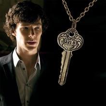 Sherlock The Key to 221B Necklace