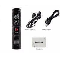 High Quality 8GB Digital Steel Stereo Voice Recorder High Smartphone Sound Recording Mini Digital Audio Recorder