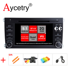 Aycetry! IPS! 2 Din Android 9.1 Auto DVD-Multimedia-Player GPS Navigation für Porsche Cayenne 2003-2010 Radio fm stereo Kopf einheit(China)
