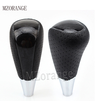MZORANGE Perforated Automatic Gear Shift Knob For TOYOTA AURIS AVENSIS For RAV4 YARIS CAMRY HILUX For LEXUS ALTIS CELICA SCION