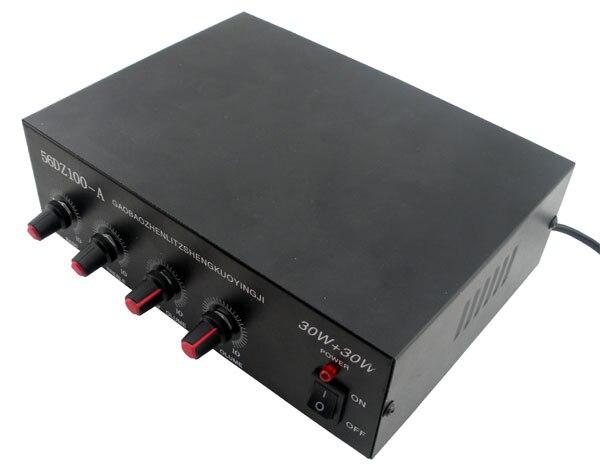 Стерео усилитель мощности комплект TDA2030 усилитель мощности с оболочки трансформатор производство электронных деталей DIY
