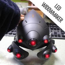 呼吸 LED!!! 2 モード!!! ウィドウメーカーヘルメットためウィドウメーカーマスクレンズフランスプレーヤーヘッドセット衣装小道具