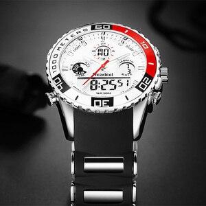 Image 3 - 2017 למעלה מותג Mens ספורט שעונים גברים קוורץ אנלוגי LED גבר שעון ספורט שעון עמיד למים צבאיים Relogio Masculino reloj hombre