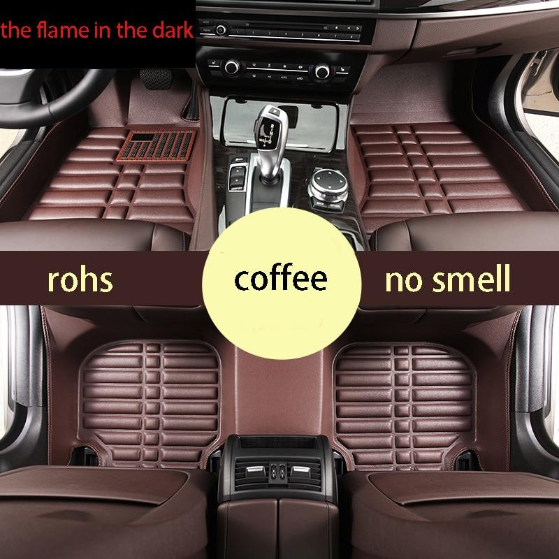 fast shipping waterproof car floor mat for Mercedes-Benz GLA-Class x156 GLA200 GLA260 GLA180 GLA250 GLA45 AMG 2014-2017 2016 zhaoyanhua car floor mats for mercedes benz w245 w246 b class 160 170 180 200 220 260 car styling heavy duty rugs liners 2005