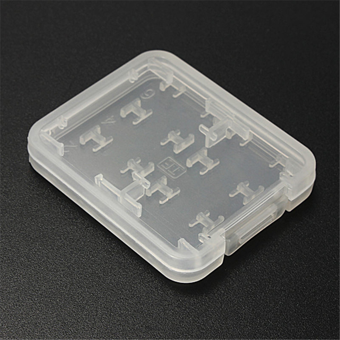Centechia Fashion 8 In 1 Plastic Micro For SD SDHC TF MS Memory Card Storage Case Box Protector