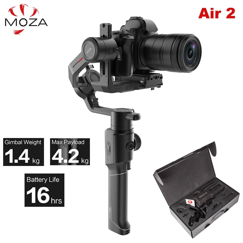 Stabilisateur de cardan portatif 3 axes Moza Air 2 Air2 Maxload 4.2 KG pour Sony Canon DSLR PK DJI Ronin S Zhiyun Weebill grue de laboratoire 2