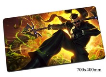 Xin Zhao mouse pad 70x40cm gaming mousepad gear lol gamer mouse mat pad Seneschal of Demacia laptop computer desk mouse play mat