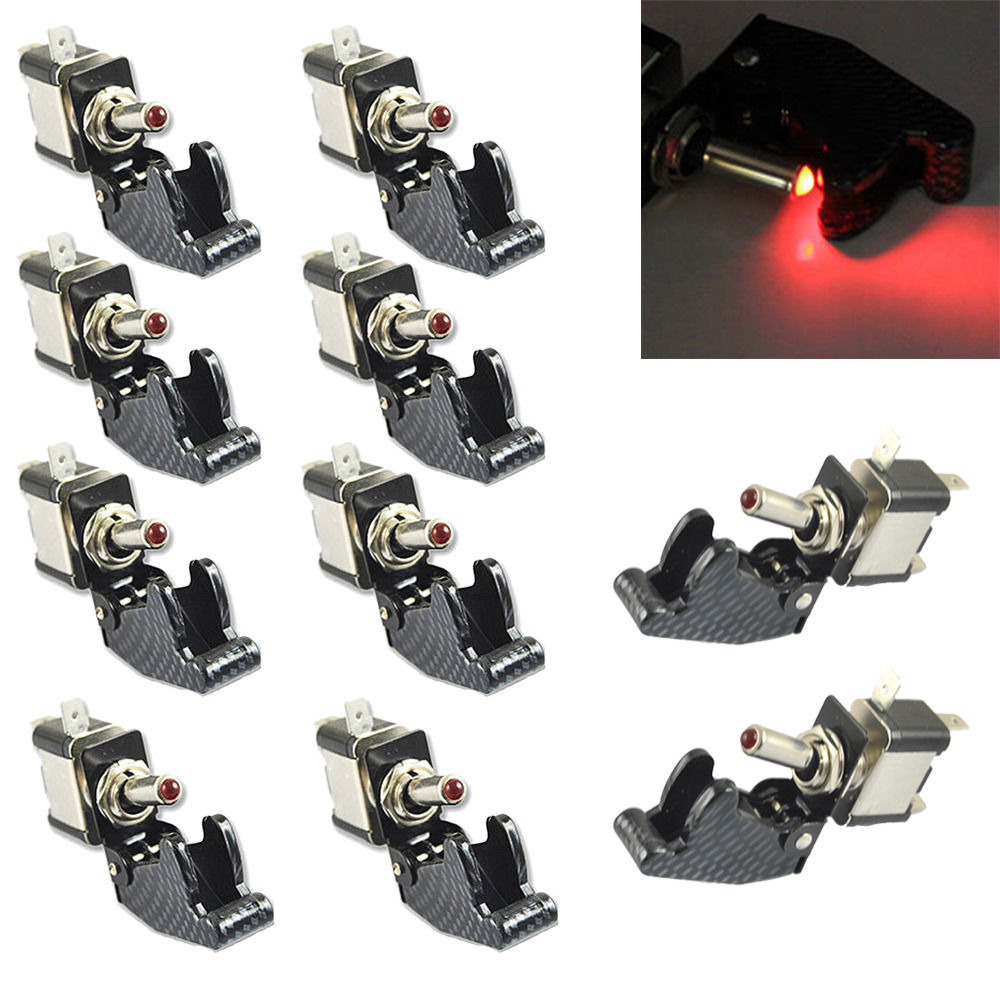 EE support 10Pcs 12V 20A Toggle Switch Motorcycle Racing Car ...