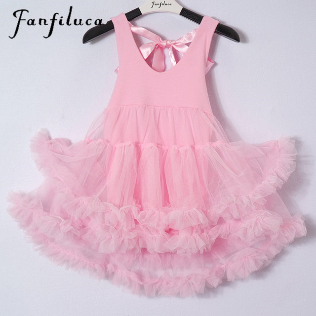 ac694a5f5772 Fanfiluca Bébé Fille Dress robe de Bal Coton Doux Dentelle Nouveau ...