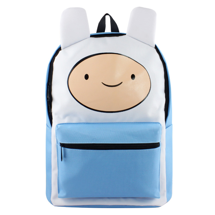 Adventure Time Finn and Jake School Backpack for Children Teenagers Men Women Bag Mochila Laptop Knapsack Bags gravity falls backpacks children cartoon canvas school backpack for teenagers men women bag mochila laptop bags