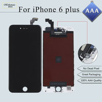 Mobymax 10PCS Lot All Test Works AAA Ecran LCD Pantalla For IPhone 6 Plus Display Touch