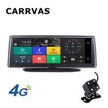 """CARRVAS Автомобильный gps навигатор Android 5,1 4G 7,8"""" Автомобильный видеорегистратор камера wifi 1080P видео рекордер Dash Cam мониторинг парковки Bluetooth"""