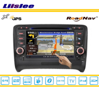 Liislee Car S160 Multimedia System For Audi TTS 2008~2011 Radio CD DVD Player GPS Satellite Navi Navigation TV HD Touch Screen