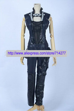 Free shipping Custom Made Gamora Cosplay Costume from Guardians of the Galaxy Movie Set Clothing High Quality Christmas carnival