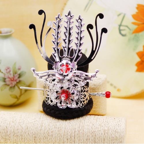 Vintage Hair Accessories Chinese Ancient Dynasty Warrior Cosplay Prince Cosplay Head Wear Prince Crown Emperor Crown King Costumes & Accessories Boys Costume Accessories