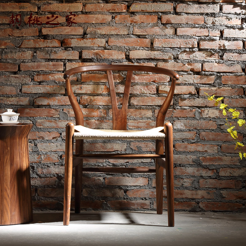 the home north american black walnut woodmensal y chair of modern chinese dining chair armchair ch177 natural side chair walnut ash