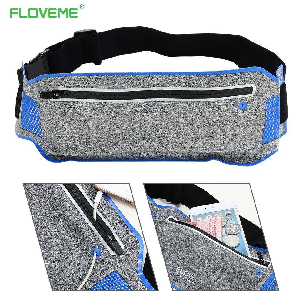 FLOVEME Universal Wallet Case For iPhone 7 6s 6 Plus Sport Waist Cases For iPhone 5s 5 6 ...