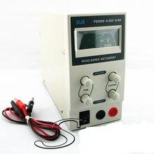 Новый 150 Вт 30 В 5A Цифровой ЖК-Регулируемый DC Импульсный Источник Питания Выходное Напряжение 0-30 В Ток 0 ~ 3A 0 ~ 5A