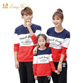 Family Matching Outfits 2017 Spring Autumn Family Clothing Sets Long Sleeve Father Mother Girl Boy Clothes Family Look