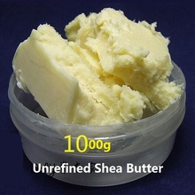 1000g natural Unrefined Shea Butter Hot Pure Organic Essential Oils Cream Lip Balm Moisturizing Skin Care Shea Butter YangXi