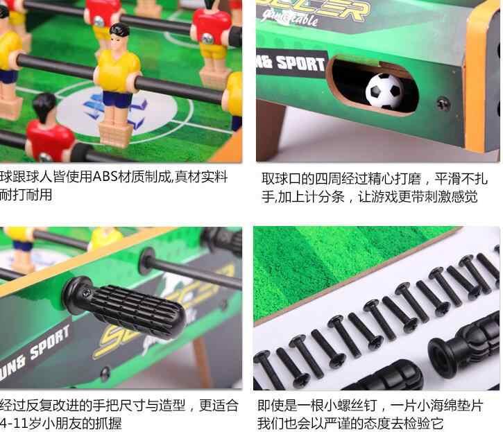 Спорт Развлечения вывеска indoor Board игровой дом деревянный футбольные столы футбольный флажок Happy Семья родителей для игрового стола подарок для малыша