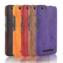 For Lenovo Vibe C A2020 Case Hard PC+PU Leather Retro wood grain Phone Case For Lenove A2020 Cover Luxury Wood Case 5.0'' protect защитная пленка protect для lenovo vibe c a2020